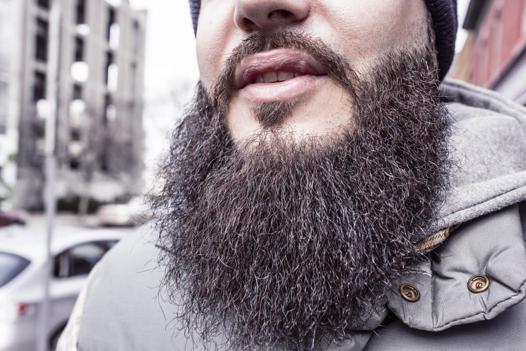 スキャルピング髭
